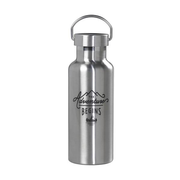 Butelka na wodę ze stali nierdzewnej Wild & Wolf , 500 ml