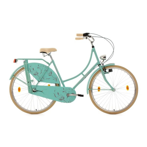 """Rower Tussaud Green Flower 28"""", wysokość ramy 54 cm, 3 biegi"""