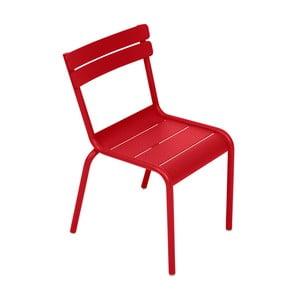 Makowe krzesło dziecięce Fermob Luxembourg
