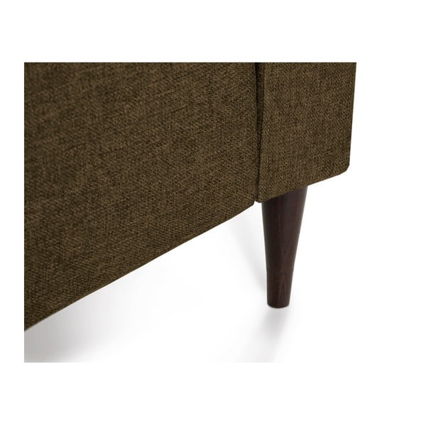 Brązowa sofa 2-osobowa Mazzini Sofas Ancolie