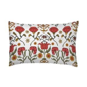 Poszewka na poduszkę Etnic Flowers Naranja, 50x70 cm