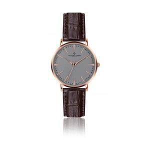 Zegarek męski z brązowym paskiem skórzanym Frederic Graff Rose Eiger Croco Brown Leather