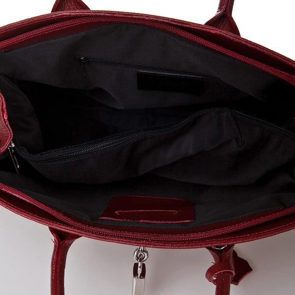Czerwona torebka skórzana  Giorgio Costa Perugia