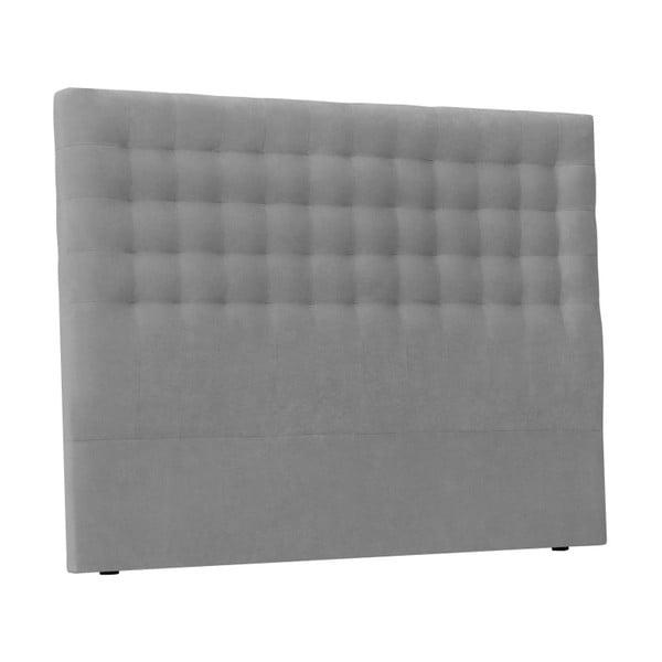 Jasnoszary zagłówek łóżka Windsor & Co Sofas Nova, 160x120 cm