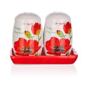 Solniczka i pieprzniczka Red Poppies