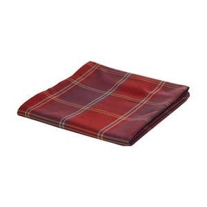 Czerwony koc żakardowy Apolena Classic, 140x170 cm