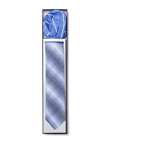 Zestaw krawata i poszetki Ferruccio Laconi 20