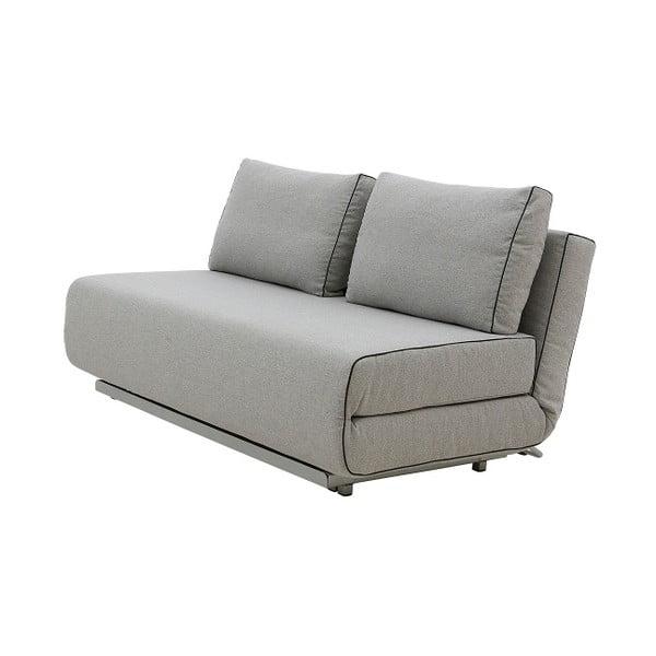 Szara sofa rozkładana Softline City