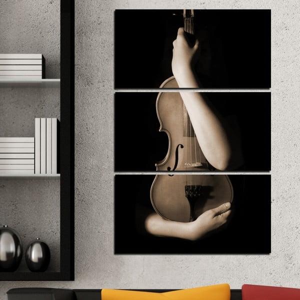 3-częściowy obraz Muzyka