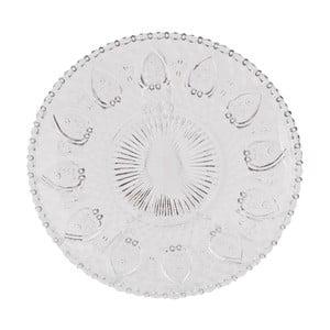 Szklany talerz Clayre Glass, 20 cm