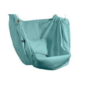 Miętowy fotel wiszący z bawełny dla dorosłych Hojdavak Maxi