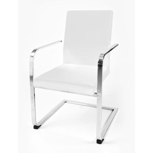 Krzesło biurowe Ottavia, białe