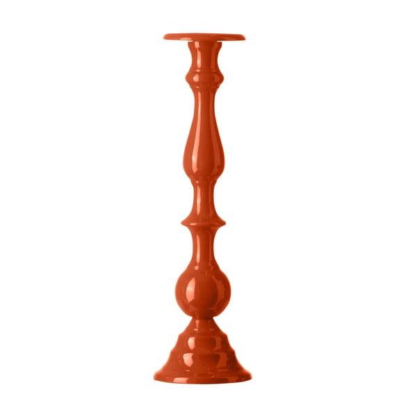 Świecznik Chunky Orange, 42 cm