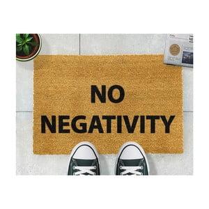 Wycieraczka Artsy Doormats No Negativity, 40x60 cm