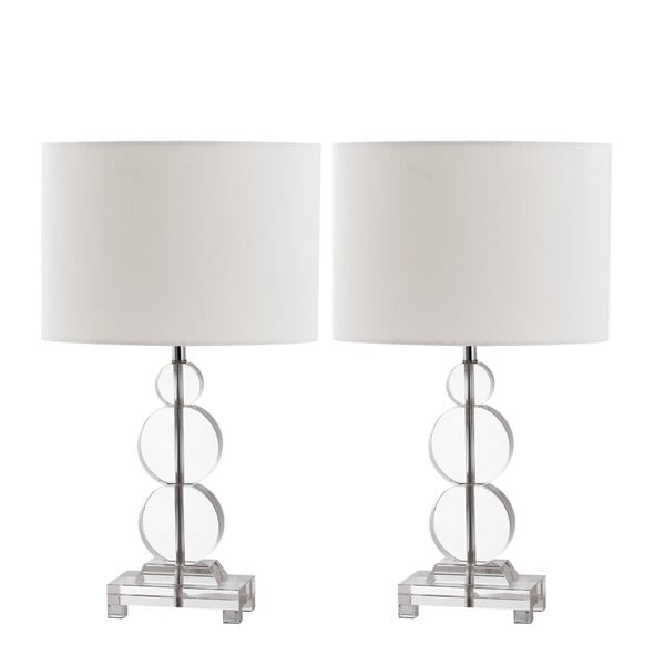 Zestaw 2 lamp stołowych Safavieh Rutland