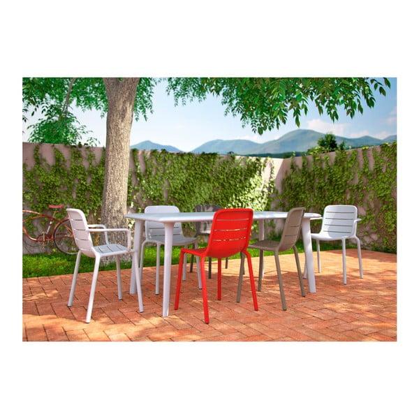 Biały stół ogrodowy Resol Dessa, 160x90cm