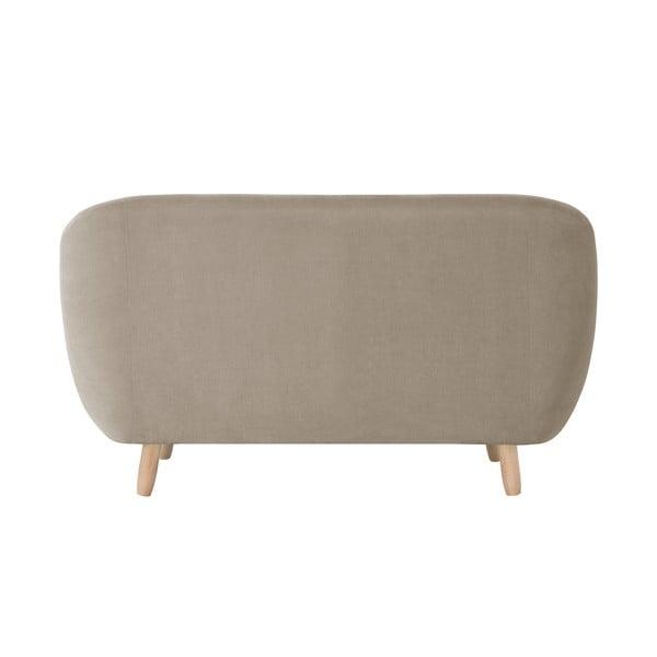 Szarobrązowa sofa dwuosobowa Jalouse Maison Vicky