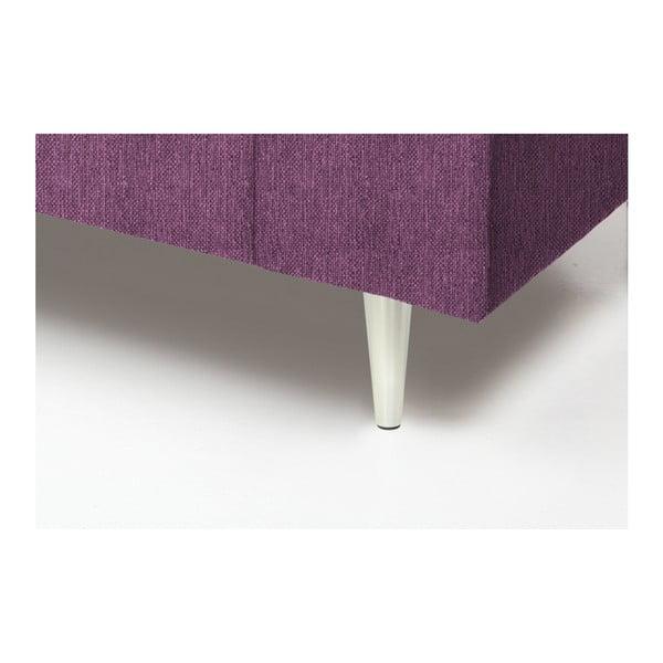 Różowa sofa 2-osobowa Vivonita Connor
