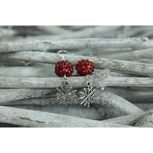 Kolczyki Christmas Snowflake