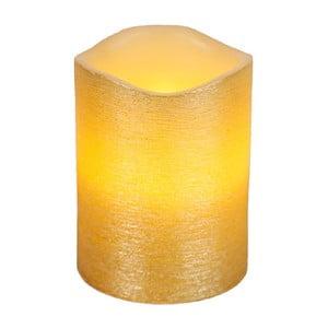Złota świeczka LED Gina, wys. 10 cm