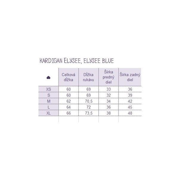 Kardigan Elysee Blue, S