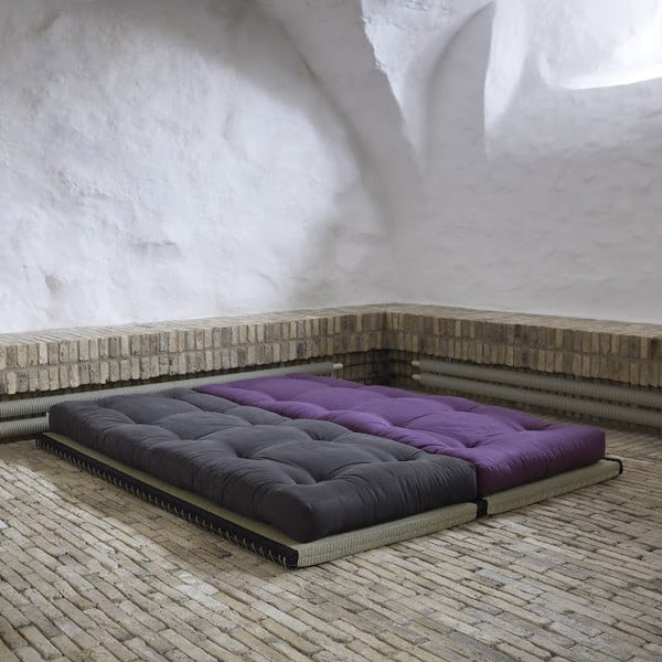 Sofa wielofunkcyjna Karup Chico Gray/Lime