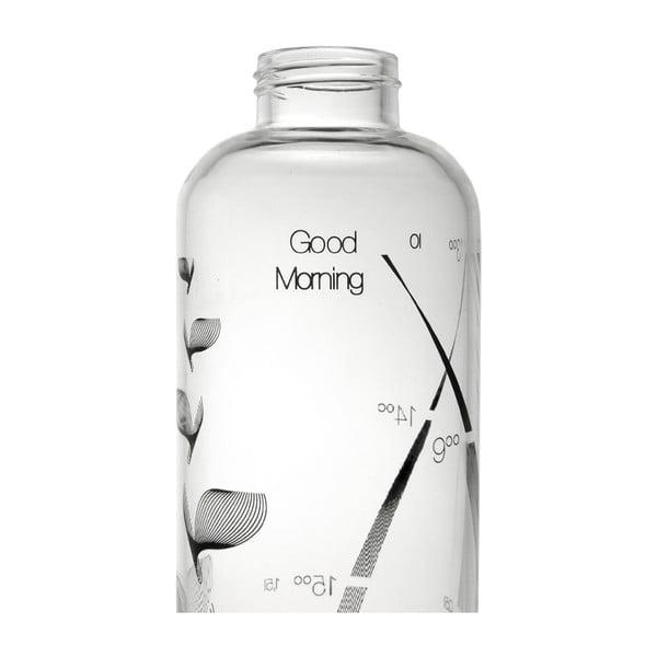 Butelka Drinkitnow Flipper 1 l, czarna