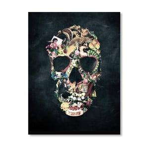 """Plakat autorski """"Vintage Skull"""""""