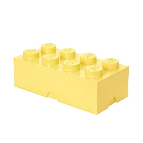 Jasnożółty pojemnik LEGO®