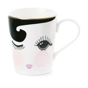 Kubek ceramiczny Miss Étoile Coffee Open and Close Eyes