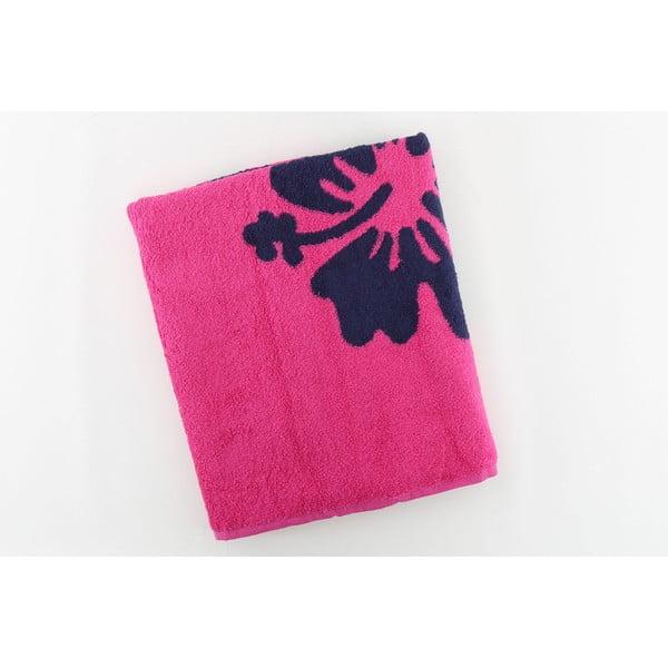 Ręcznik bawełniany BHPC Orchidea 80x150 cm, różowy