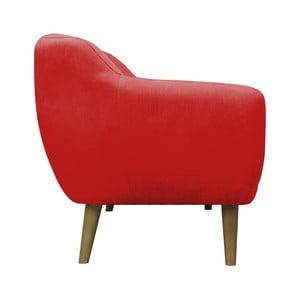 Czerwony fotel Mazzini Sofas Sardaigne
