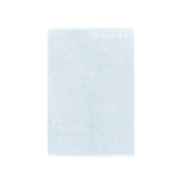 Dywanik łazienkowy Esprit Solid 60x90 cm, pastelowo-niebieski