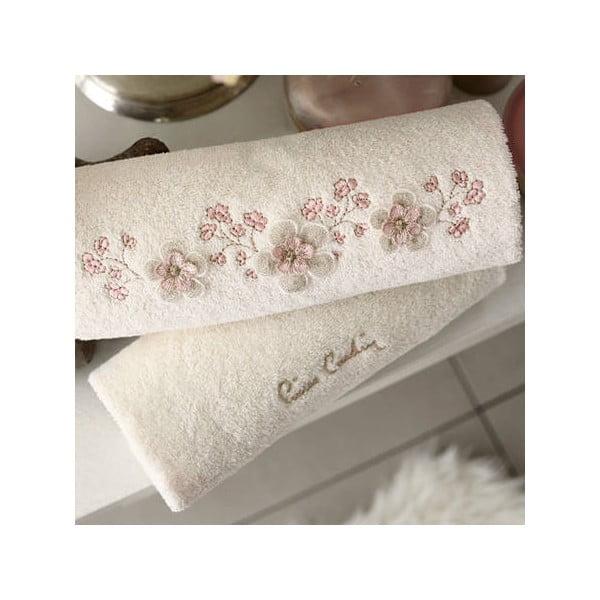 Komplet 4 ręczników Isabella, 50x90 i 85x150 cm