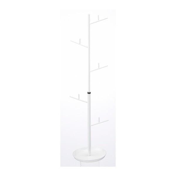 Biały stojak na drobiazgi/biżuterię Yamazaki Branch, 33-40 cm