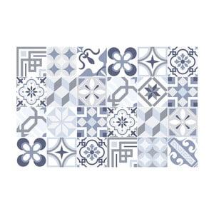 Zestaw 24 naklejek Ambiance Blue Tiles