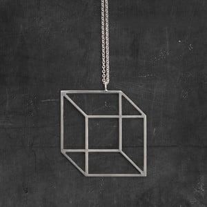 Naszyjnik Cube Silver z kolekcji Geometry