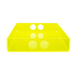 Taca Tray Yellow, 22x31 cm