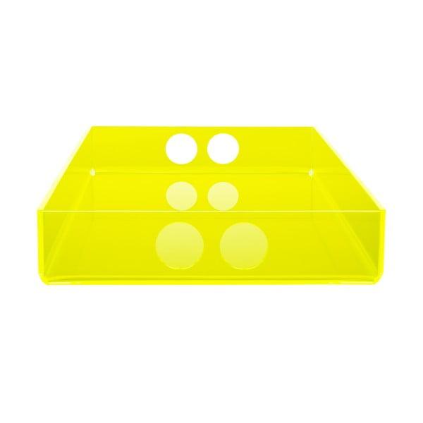 Taca Tray Yellow, 22x31 cm