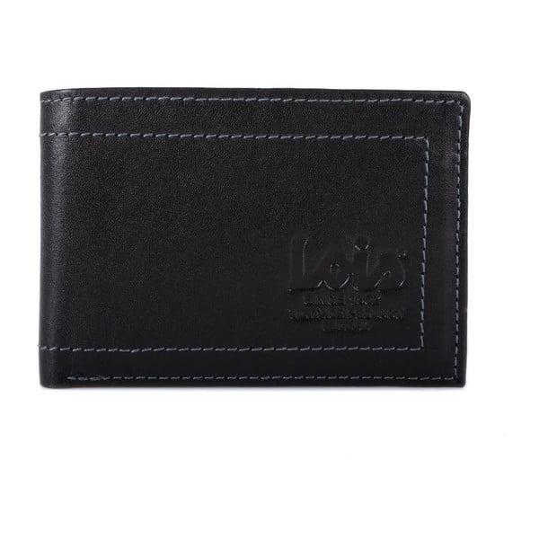 Skórzany portfel Lois Simple, 10x7 cm