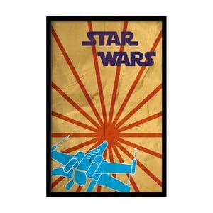 Plakat Star Wars, 35x30 cm