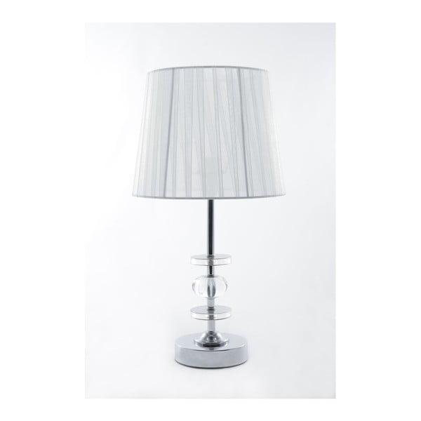 Lampa stołowa Glamour White, 41,5 cm