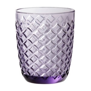 Fioletowa   szklanka Côté Table Arlequin, 250ml