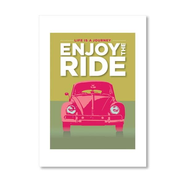 """Plakat autorski """"Enjoy the Ride VWB"""""""