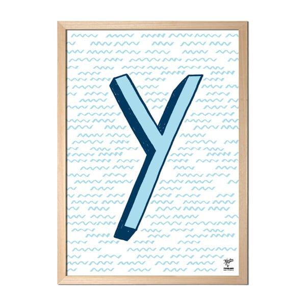 Plakat Y designed by Karolina Stryková