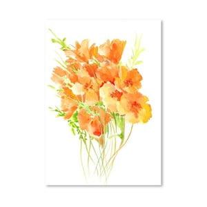 Plakat Poppies from California (projekt Suren Nersisyan)