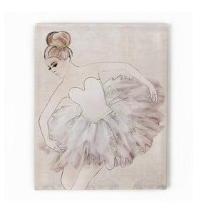 Obraz Graham & Brown Classic Ballerina, 40x50 cm