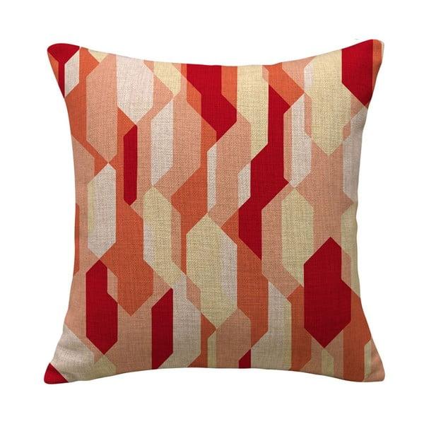 Poszewka na poduszkę Prismas Red, 45x45 cm