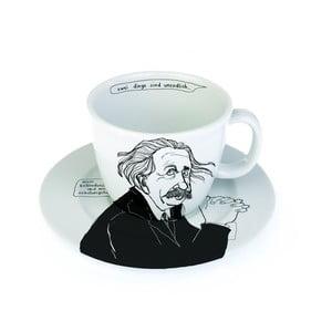 Kubek z talerzykiem Albert matematyk, po niemiecku