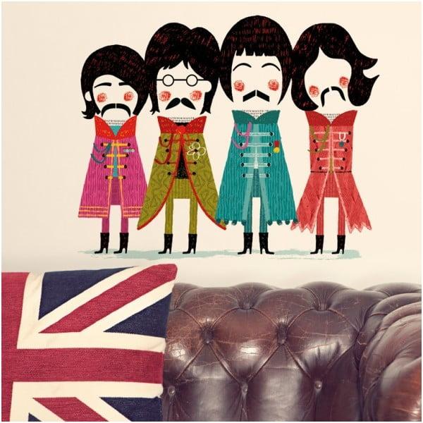 Naklejka dekoracyjna na ścianę The Beatles
